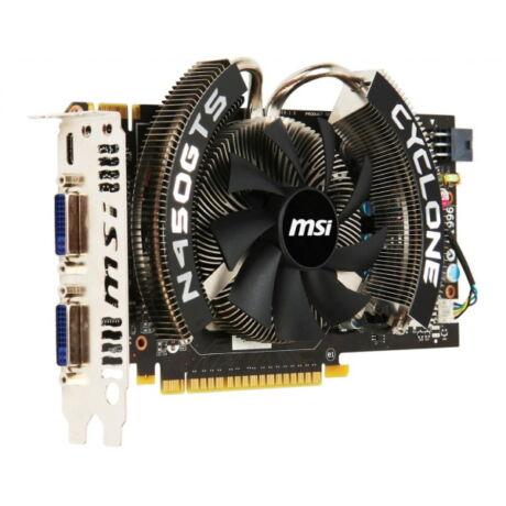 MSI N450GTS Cyclone 1GD/5OC